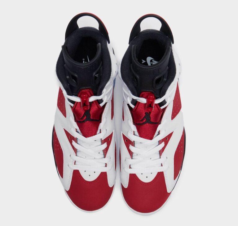 New Look At The Air Jordan 6 Retro U0026quot Carmine U0026quot The Sneaker